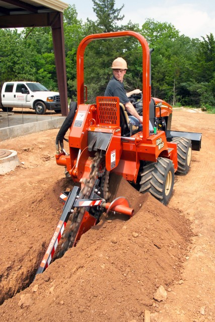 Ditch Witch :: Ditch Witch Releases Ride On RT45 Trencher